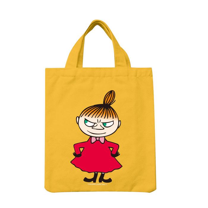 (複製)YOSHI850|Moomin嚕嚕米正版授權:彩色手提小帆布包【04 Liitle My (粉)】