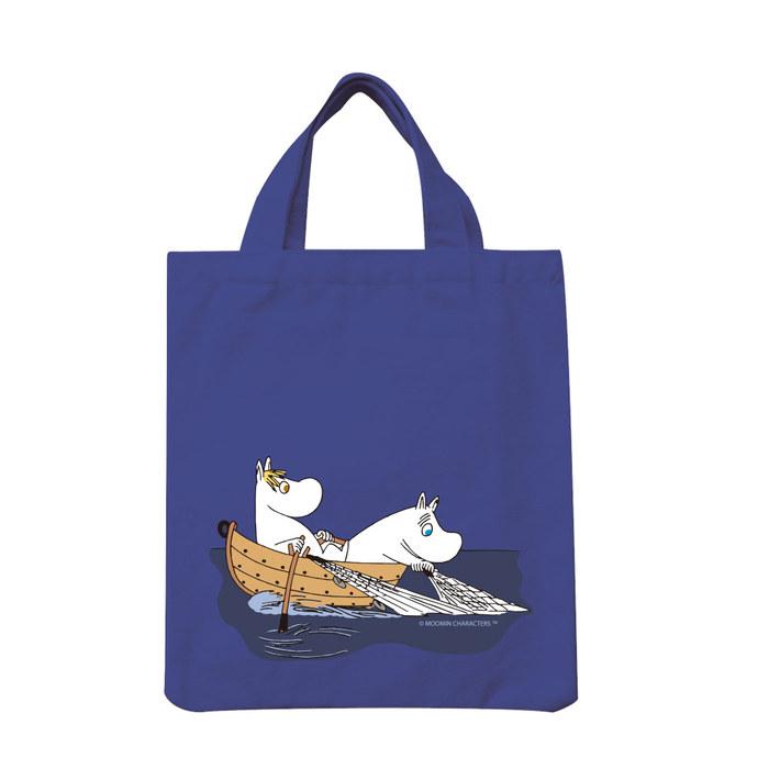 (複製)YOSHI850|Moomin嚕嚕米正版授權:彩色手提小帆布包【04 Liitle My (黃)】