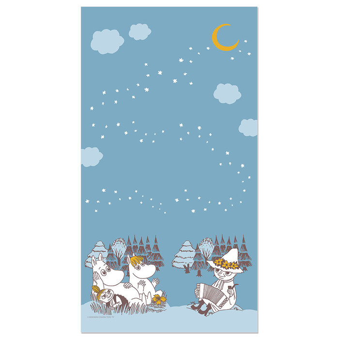 (複製)YOSHI850|Moomin嚕嚕米正版授權:彩色厚棉浴巾【01】