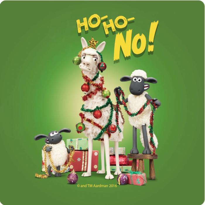 (複製)YOSHI850 笑笑羊正版授權:吸水杯墊【09 merry Christmas】(方.圓)