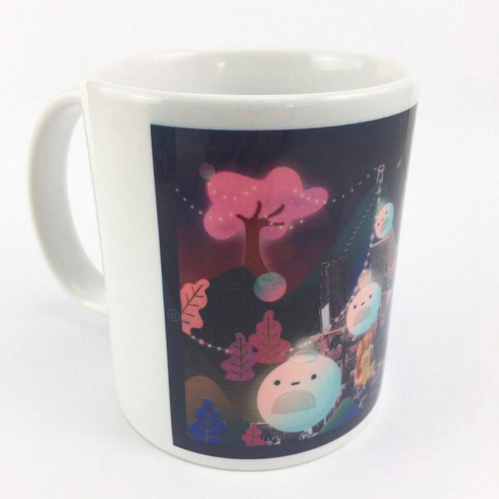 (複製)YOSHI850|新創設計師 - 沒個性星人Roo:馬克杯【04情人杯-嚕比】