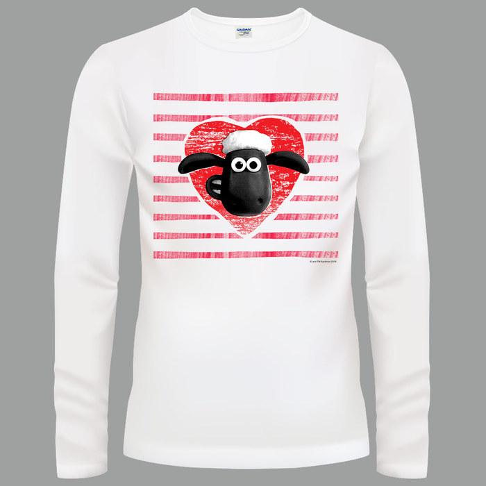 (複製)YOSHI850 笑笑羊正版授權【14 草原三傻】長袖T-shirt (修身/中性)白色