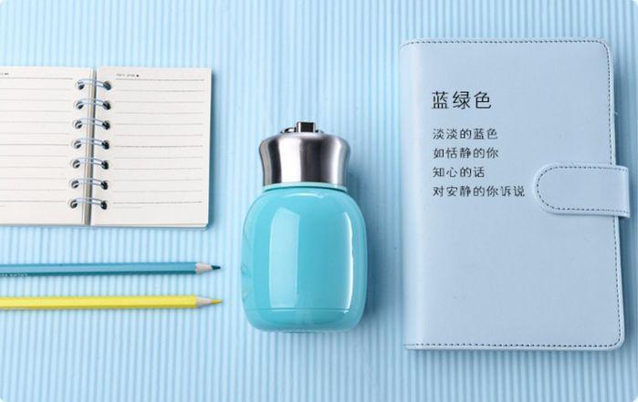 (複製)YOSHI850 笑笑羊正版授權:時尚造型迷你保溫瓶(小-200ml)【04 橘】