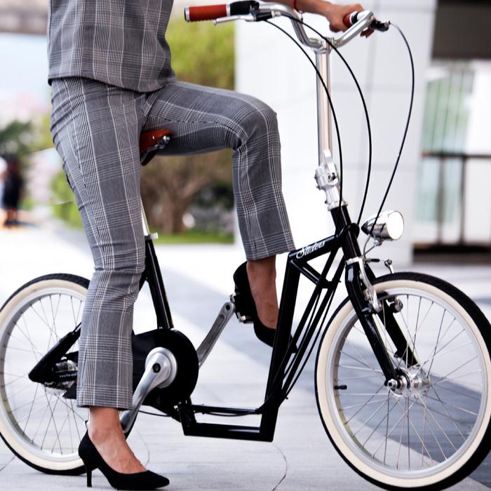 (複製)城市自行車Avenue Lite 滑板小徑車(黑色)周年慶55折後再送工具組