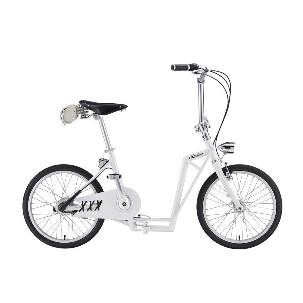 Sliders|城市自行車 Metro 省力摺疊車(白色款)周年慶特惠!