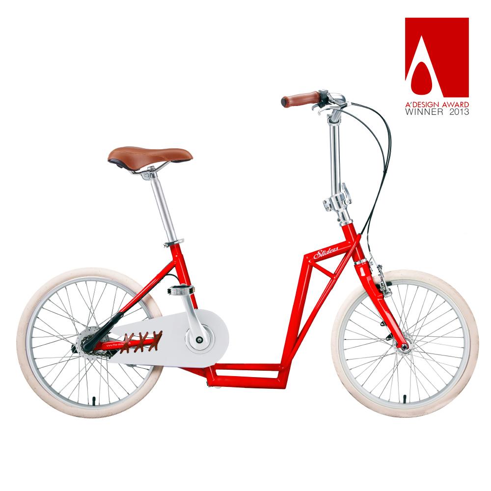 Sliders | 城市自行車Avenue Lite 滑板小徑車(紅色)送工具組