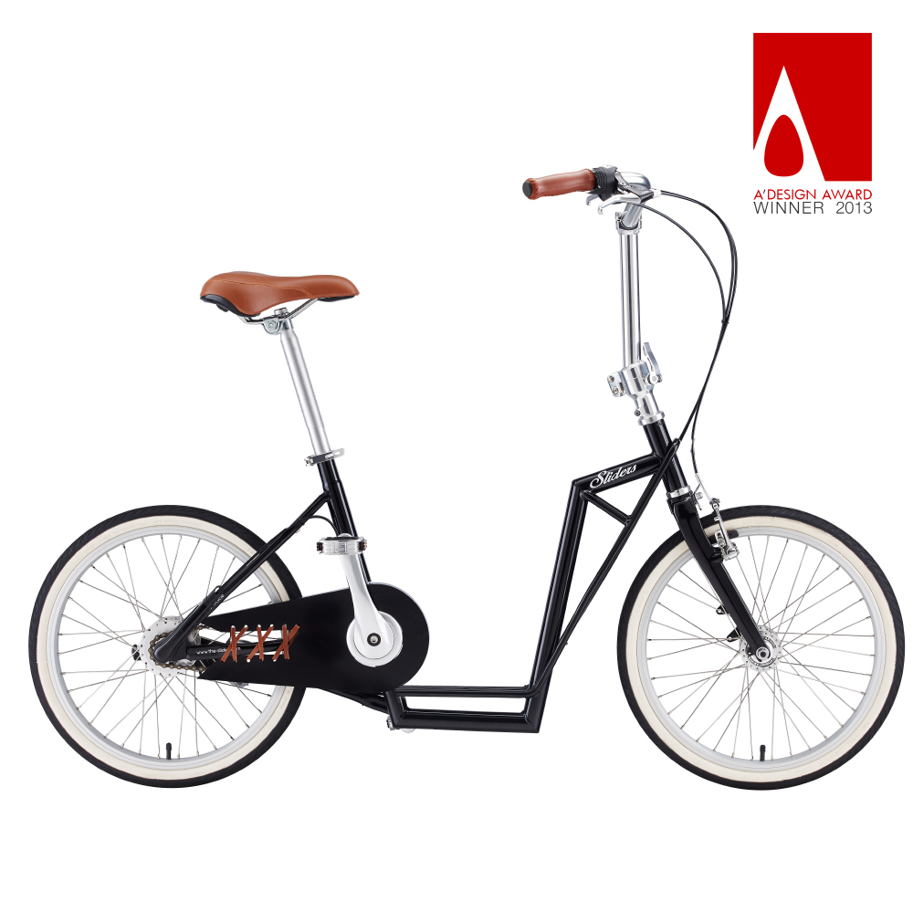 Sliders | 城市自行車Avenue Lite 滑板小徑車(黑色)送工具組