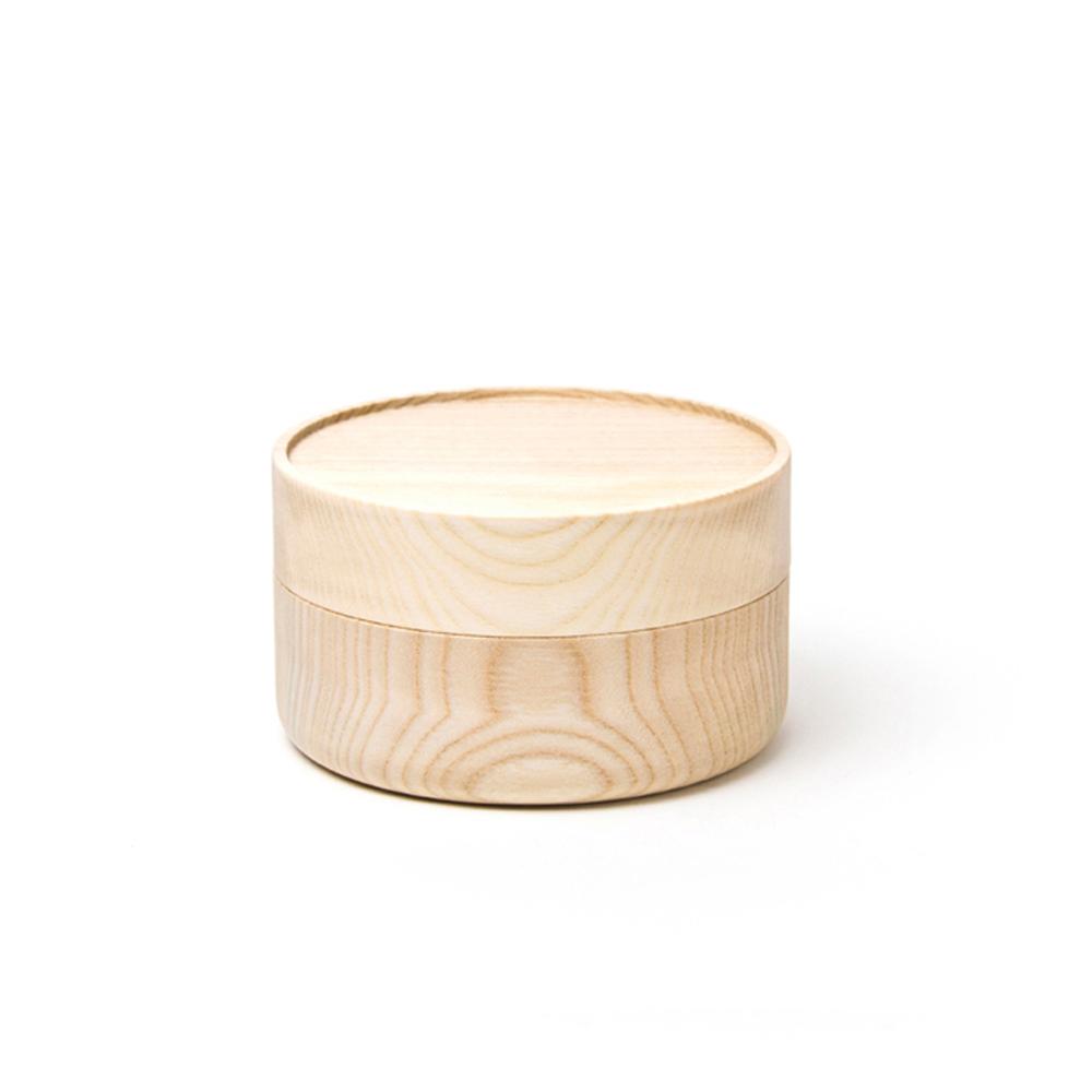 畑漆器店 HATASHIKKITEN|木製容器 HAKO S(原木色)