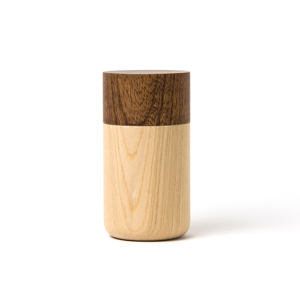 畑漆器店 HATASHIKKITEN|密封罐 TUTU M(咖啡色)
