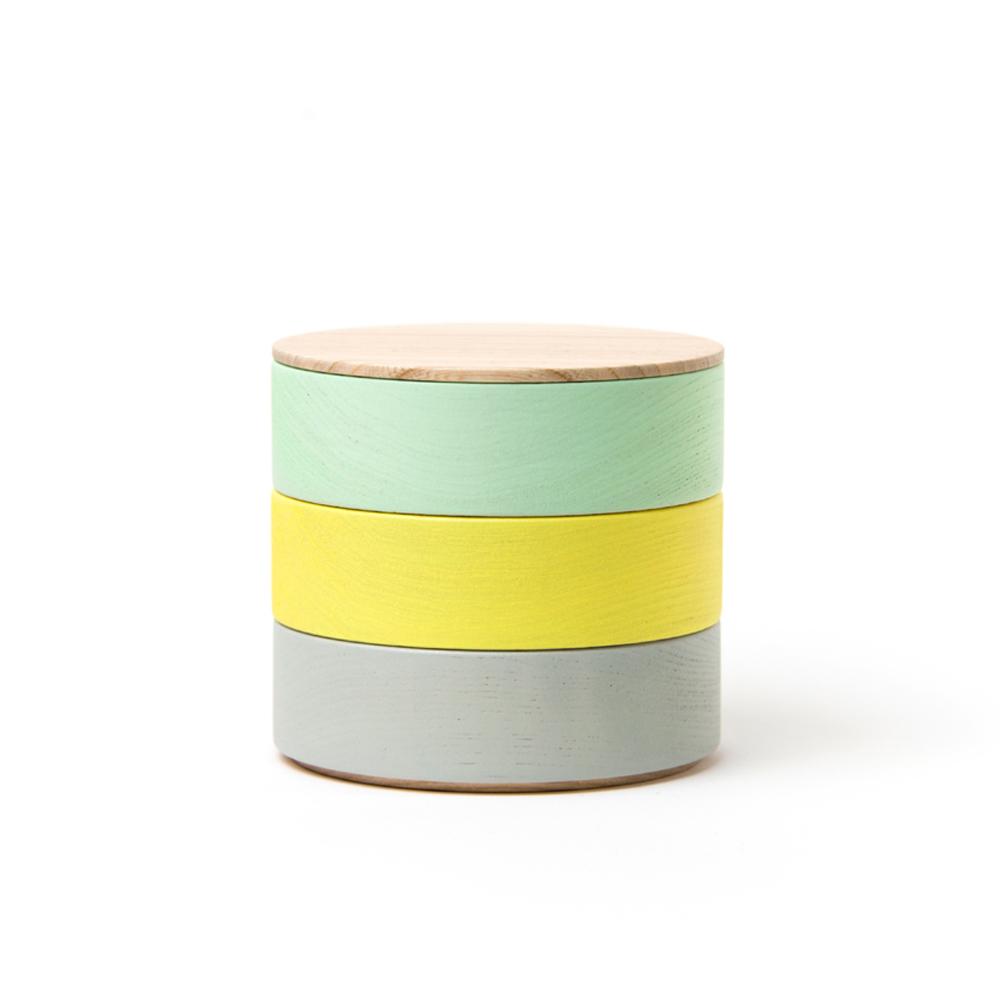 畑漆器店 HATASHIKKITEN|木製食器/容器 BORDER 003B
