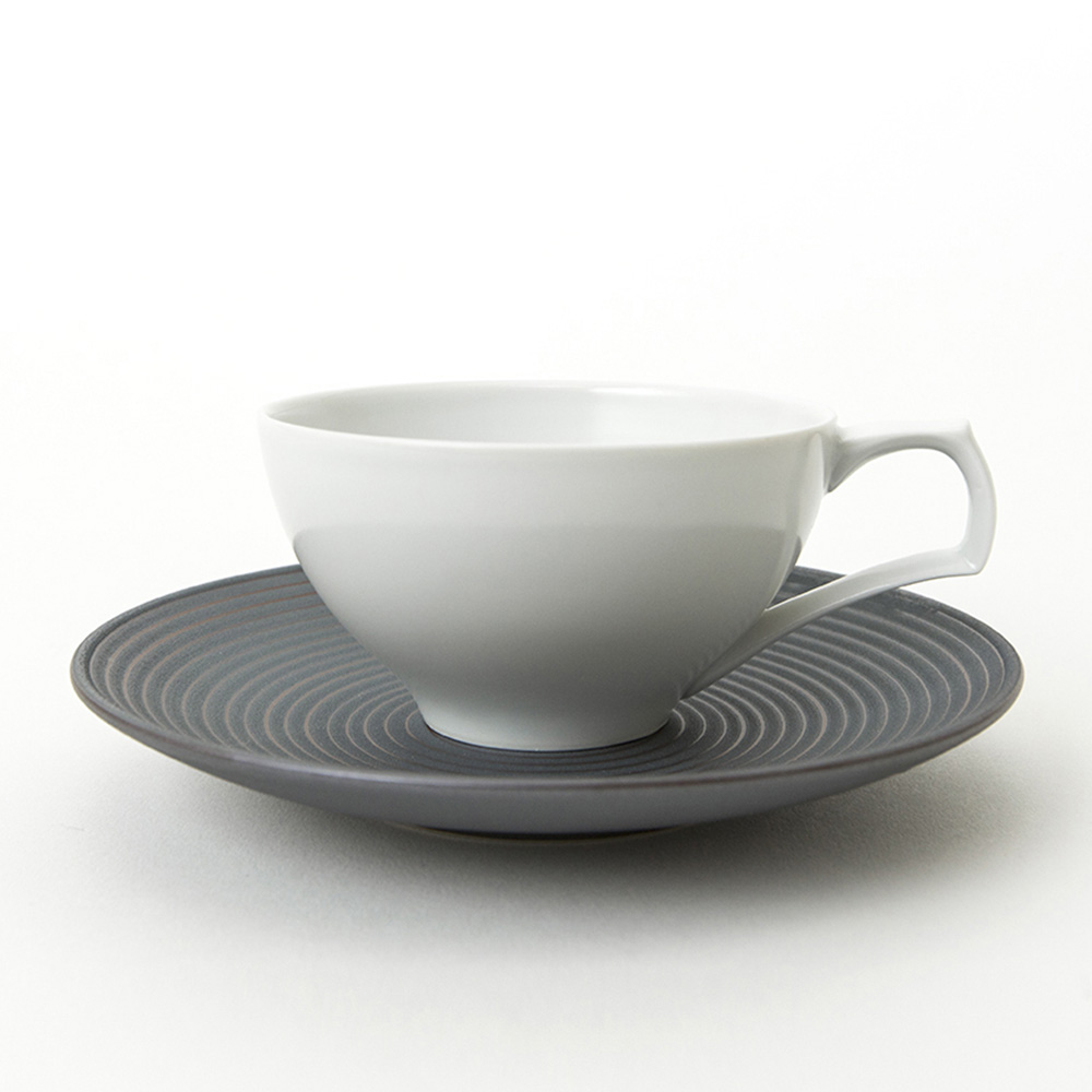 KIHARA 杯盤組-錆線紋