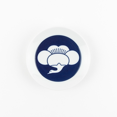 KIHARA 豆皿-梅鶴