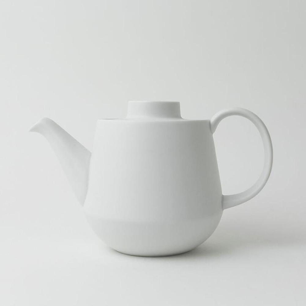 KIHARA 白素磁釉 茶壺
