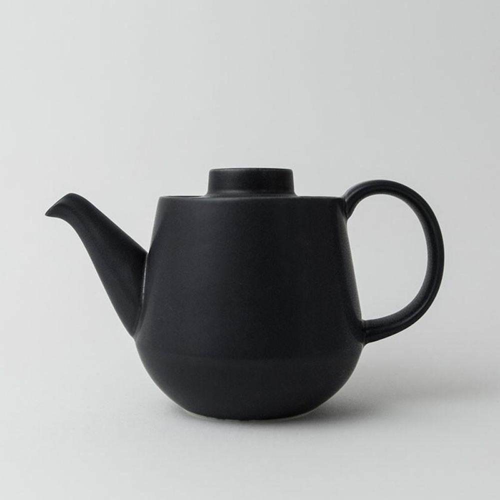 KIHARA 藍素磁釉 茶壺