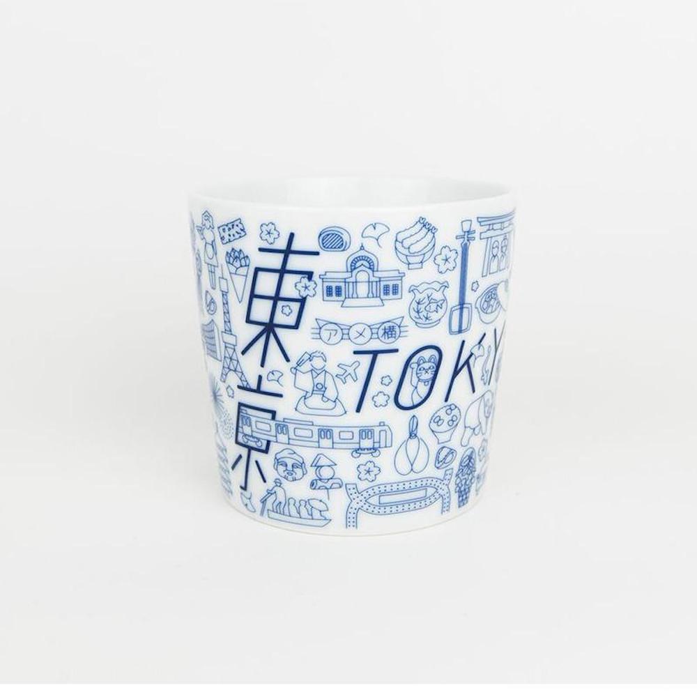 KIHARA|TOKYO ICON 四百年紀念瓷杯