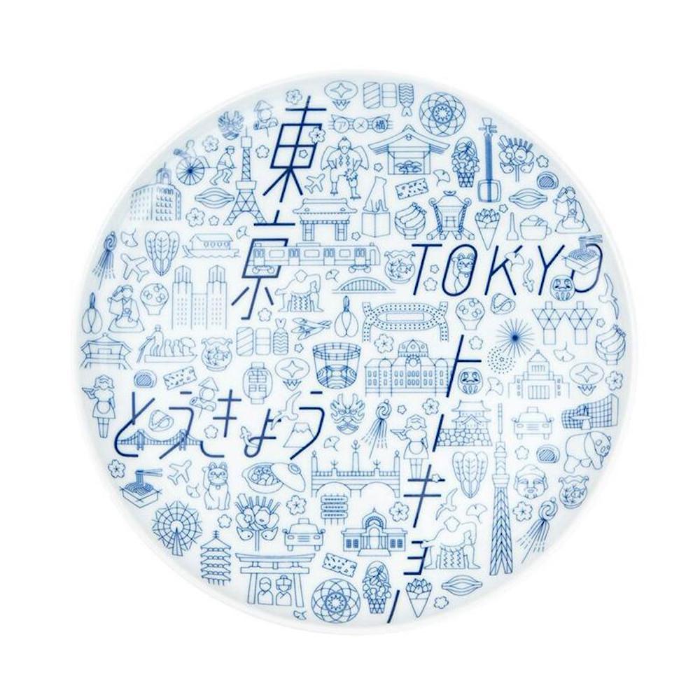 KIHARA|TOKYO ICON 四百年紀念餐盤