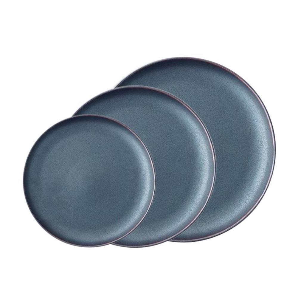 KIHARA|EN 餐盤 黑色組