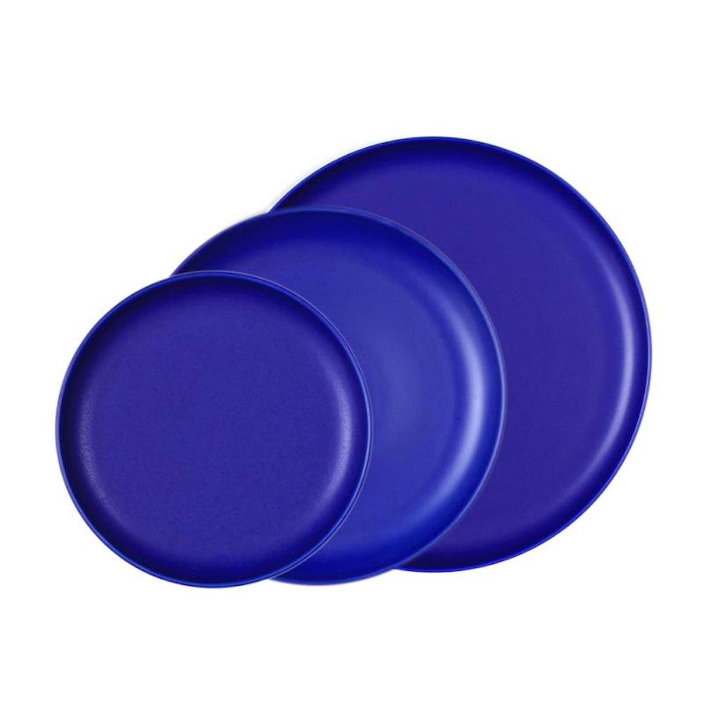 KIHARA EN 餐盤 藍色組