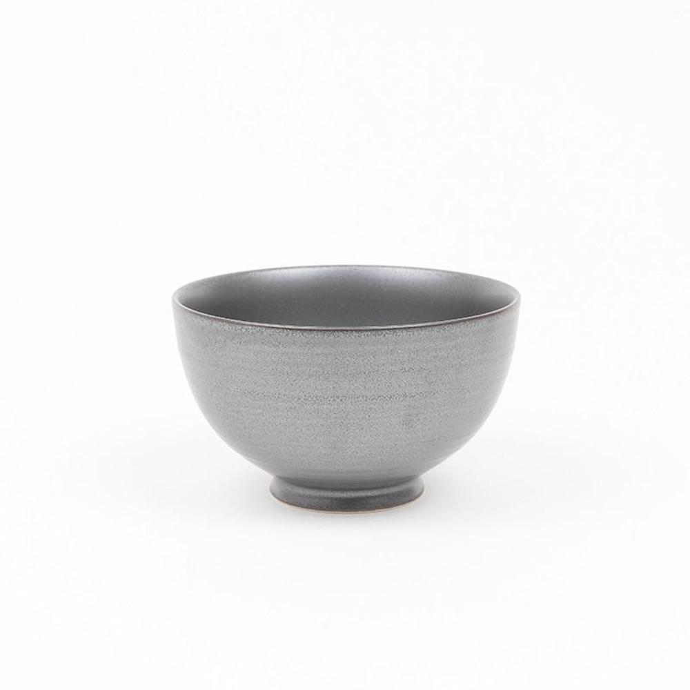 KIHARA|黒砂釉 瓷餐碗 S