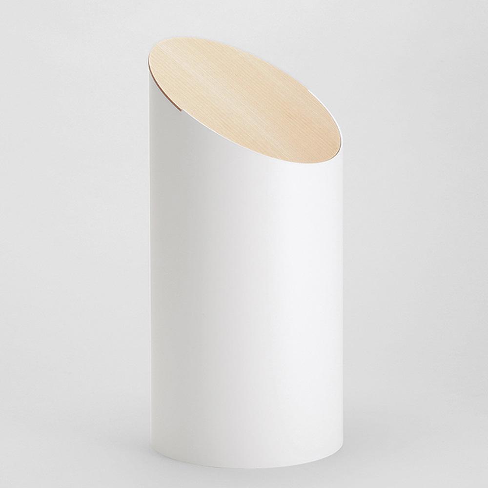 MOHEIM|SWING BIN 白色 楓木垃圾桶