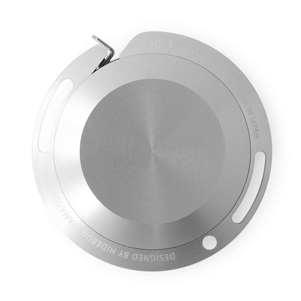 TAKEDA DESIGN PROJECT 鋁製卷尺 / 銀 2M