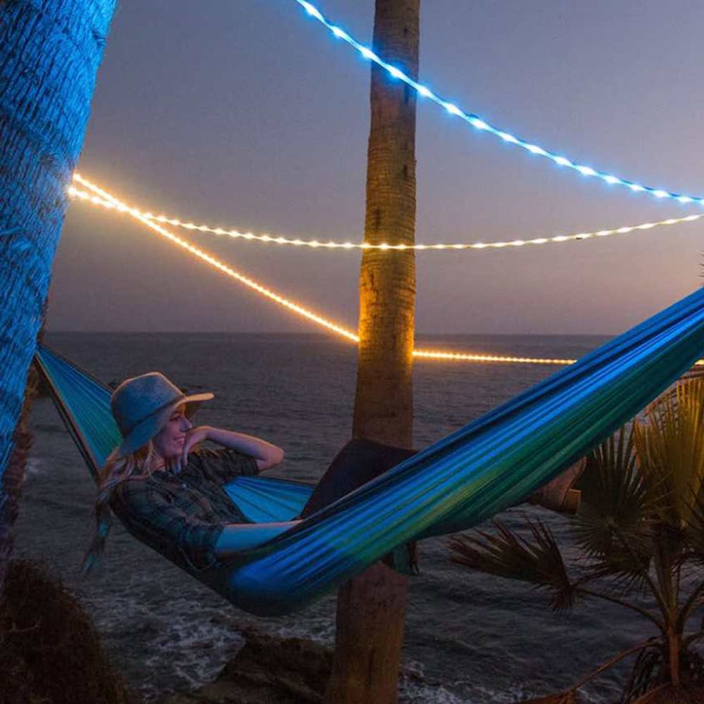 Power Practical Luminoodle Color 5ft 露營可調光變色LED燈條/USB供電