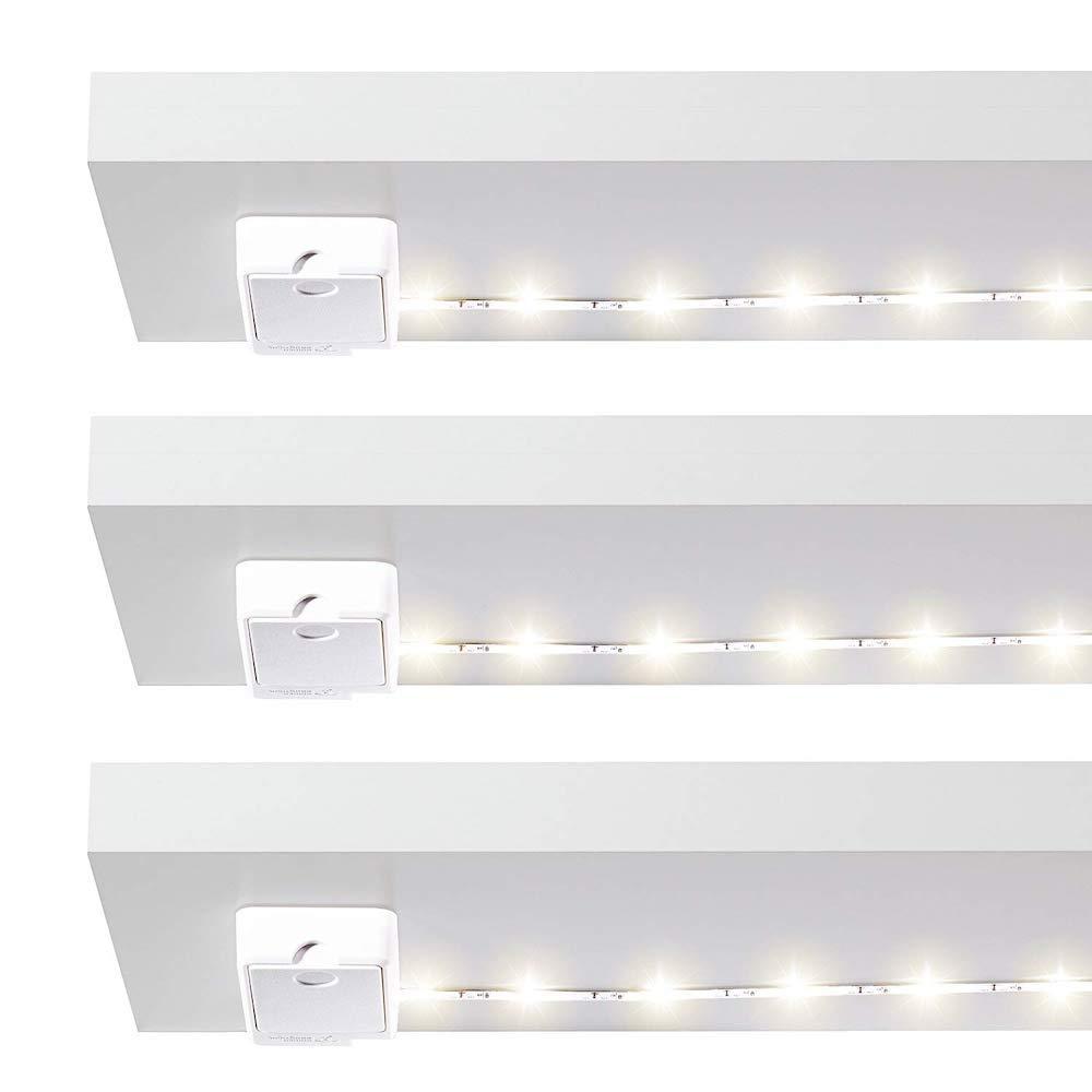 Power Practical|Luminoodle Click  免插電層板LED燈條 (三組入)