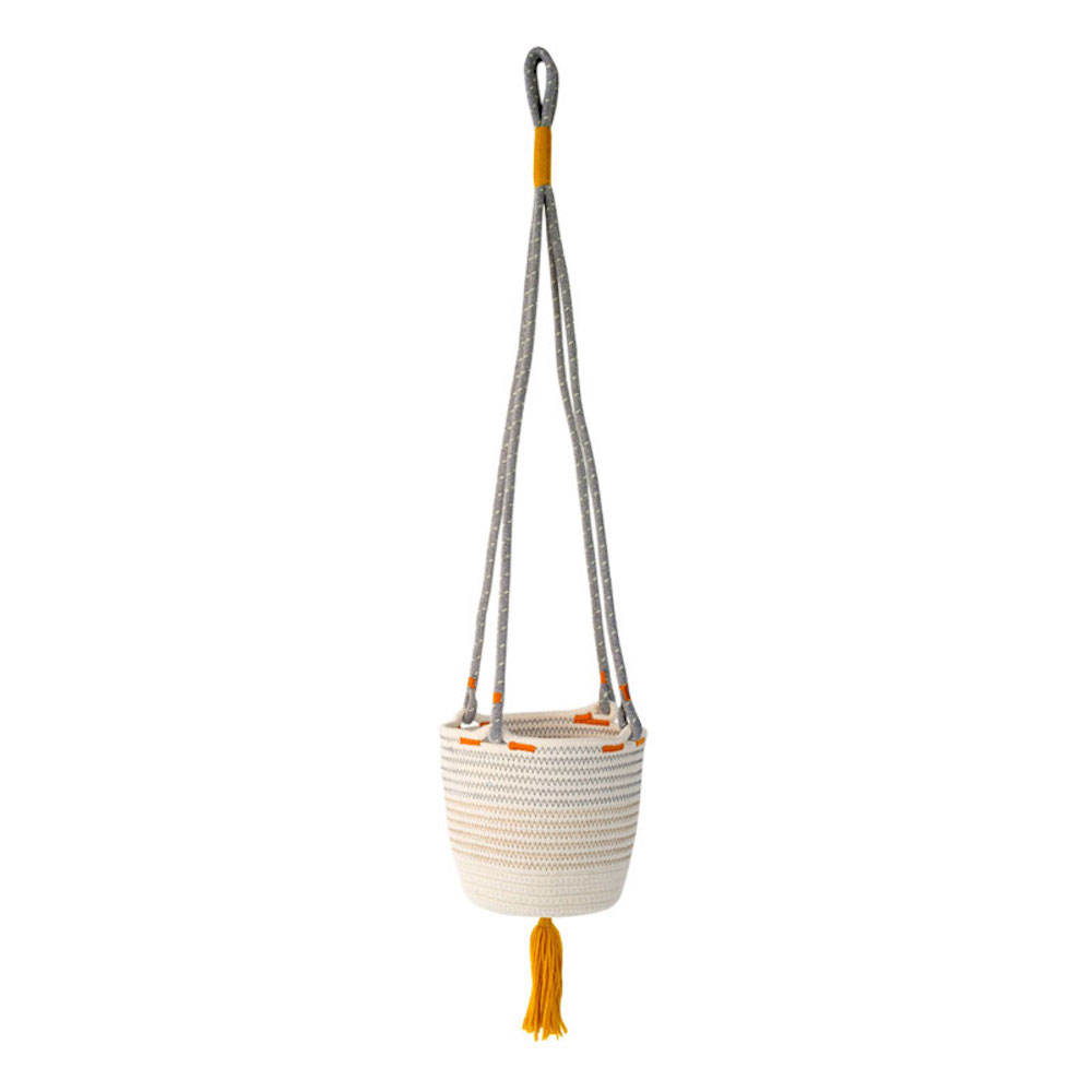 Amabro 綿繩吊籃 / 三色可選