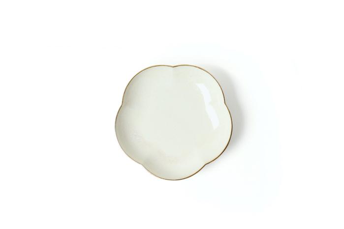 (複製)KIHARA|菊型取皿 渕赤