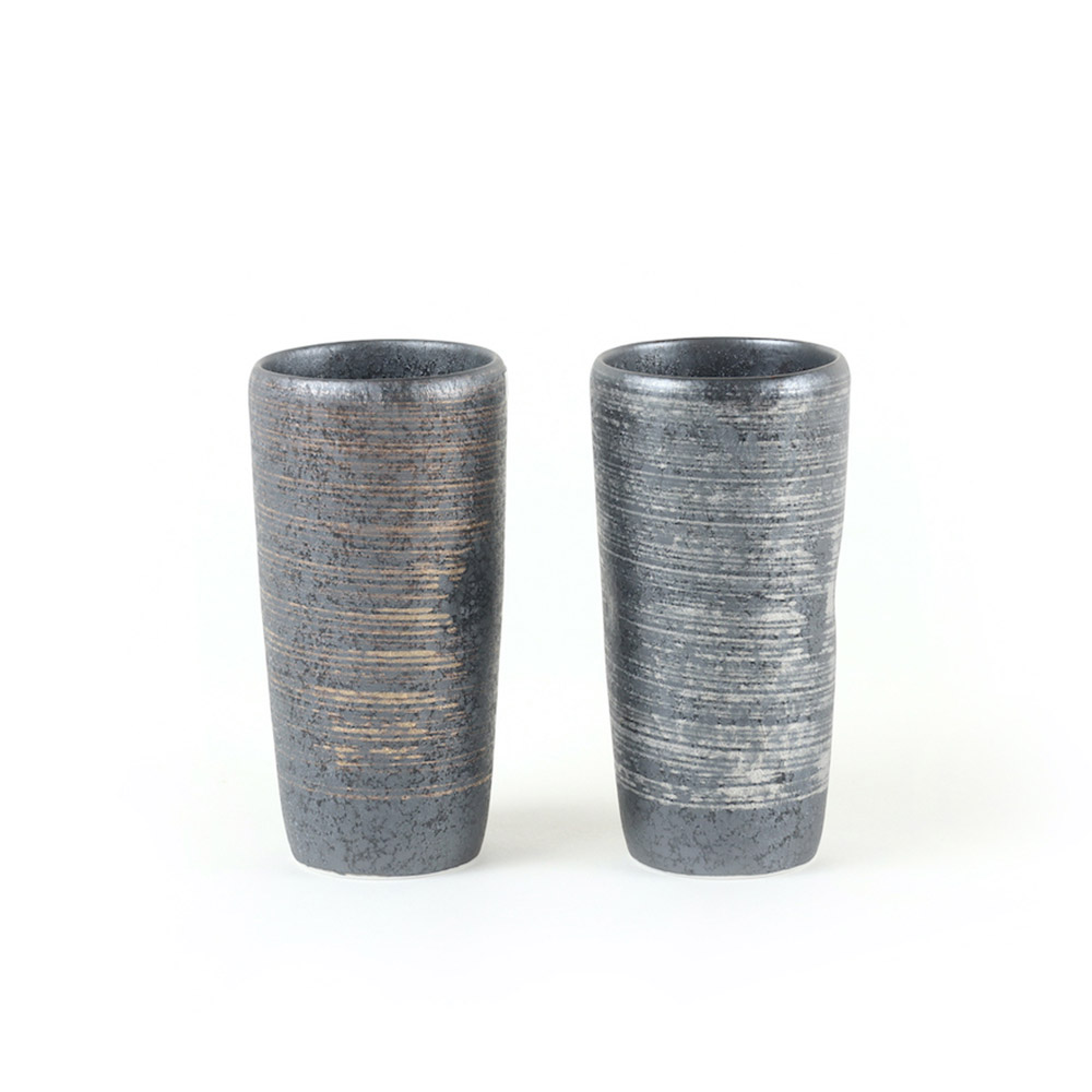 KIHARA|晶釉 金銀酒杯組