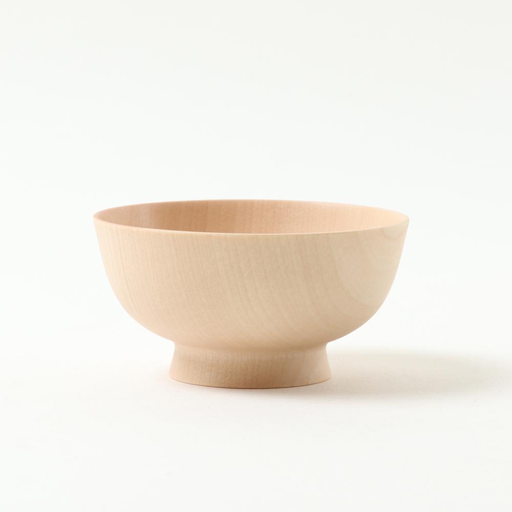 畑漆器店 HATASHIKKITEN|卯之松堂 飯碗 木肌