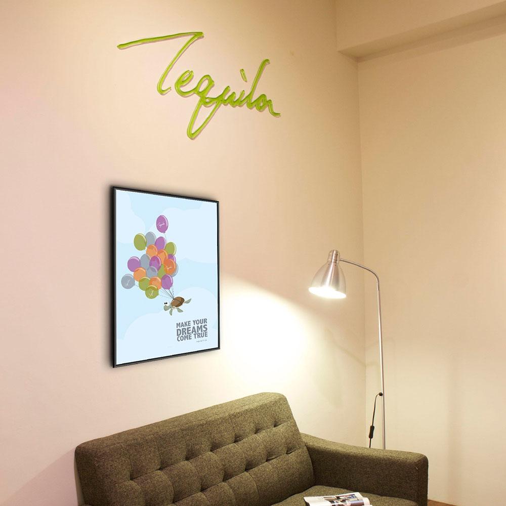 Tequila|原創設計海報4開直立-Turtle