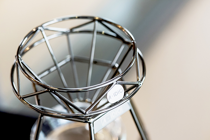 (複製)A-IDIO|鑽石手沖咖啡架組(2色)獨家限量贈600ml耐熱玻璃壺
