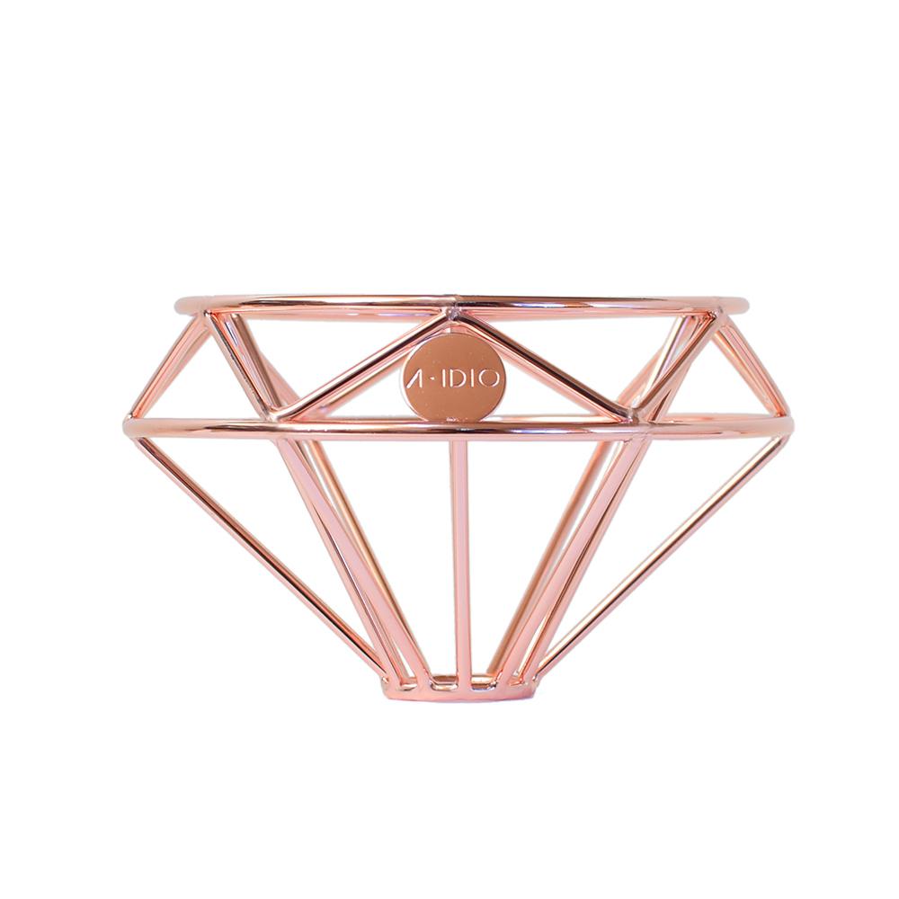 A-IDIO 鑽石咖啡濾杯(附絨布袋)—玫瑰金