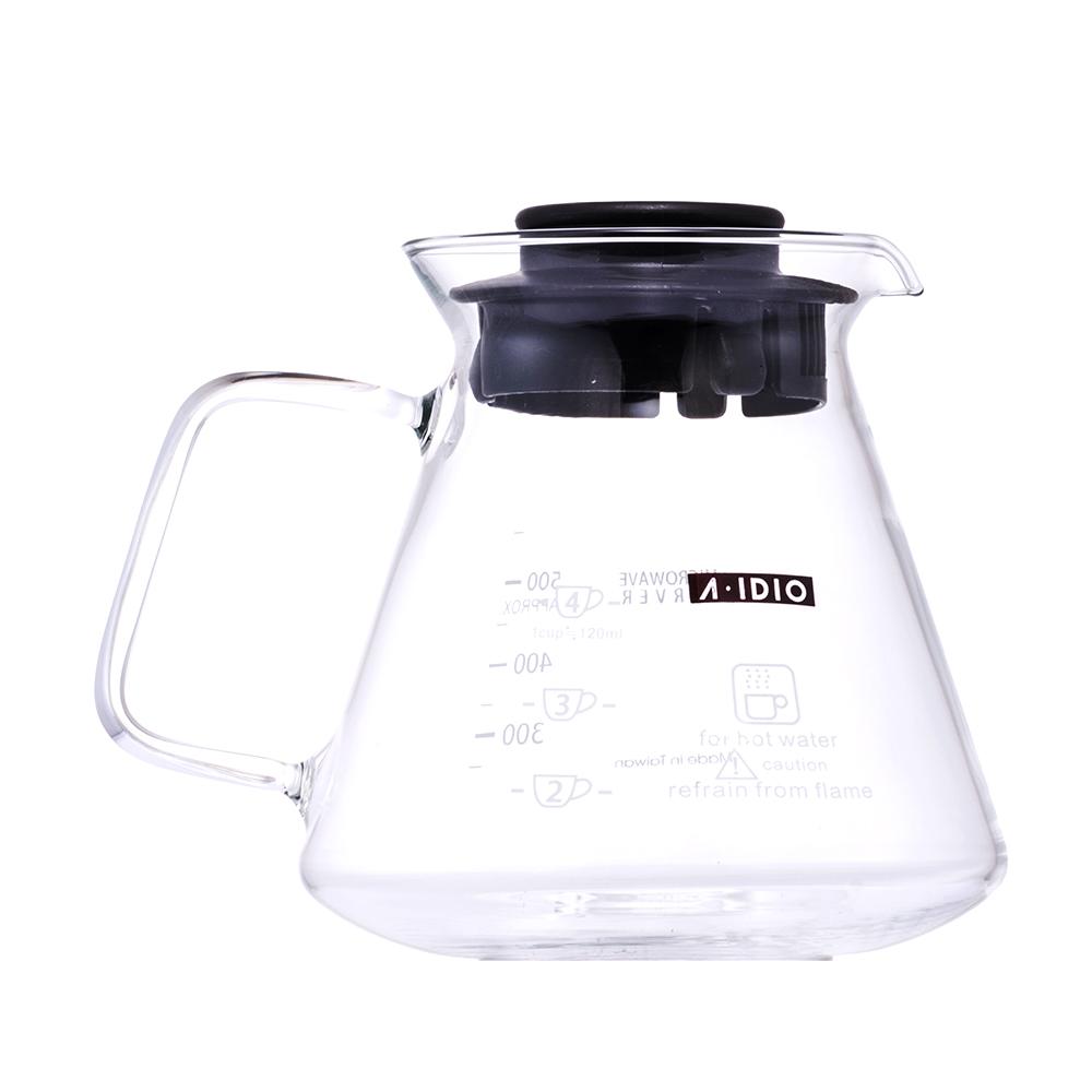 A-IDIO| 耐熱玻璃壺(600ml)