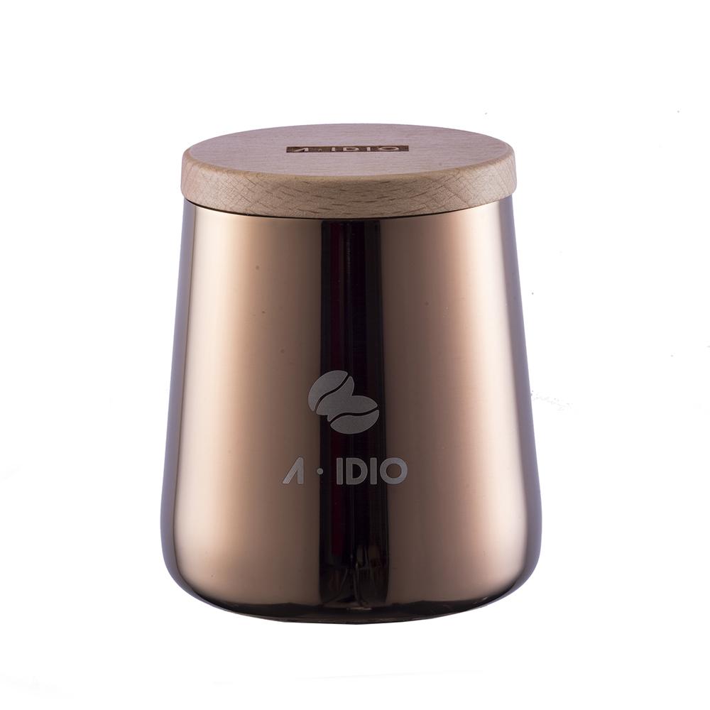 A-IDIO|鈦金密封罐(香檳金)