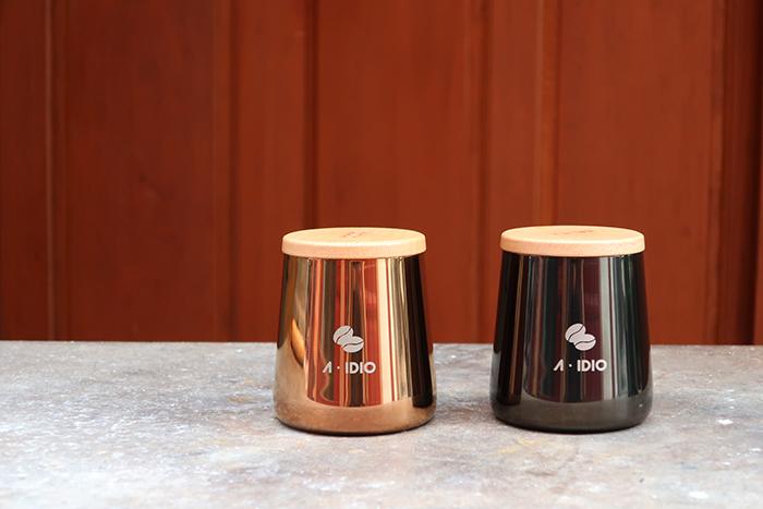 A-IDIO|鈦金密封罐(爵士黑)