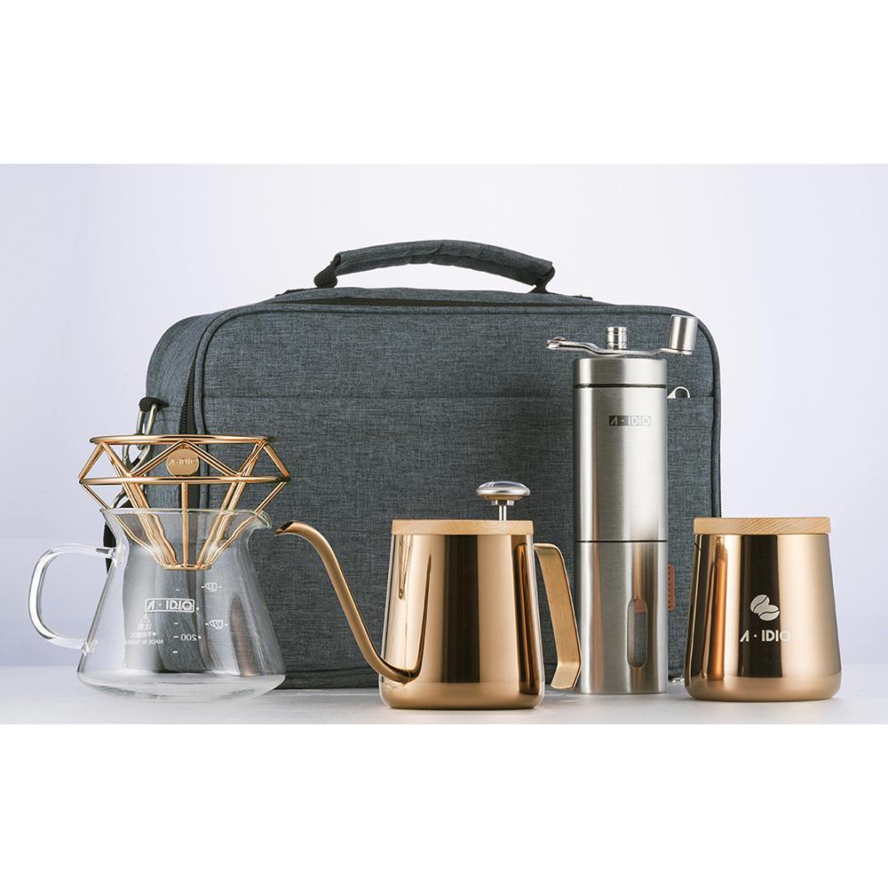 A-IDIO|手沖咖啡隨行組-鈦金版