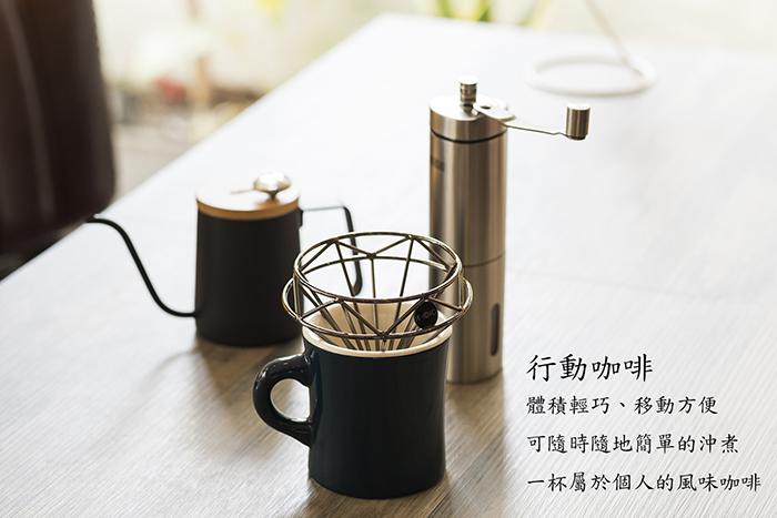 (複製)A-IDIO|鑽石咖啡濾杯壺組(玫瑰金)