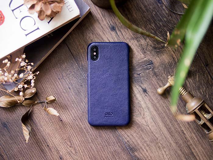 (複製)Alto|iPhone X 皮革保護殼 Original (珊瑚紅)