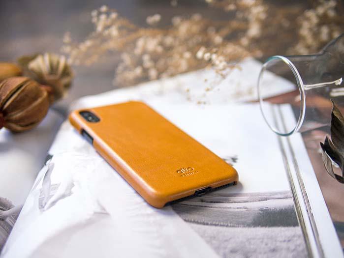 (複製)Alto|iPhone X 皮革保護殼 Original (海軍藍)