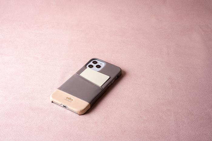 (複製)Alto|iPhone 12 mini 5.4吋 插卡皮革手機殼背蓋 Metro (海軍藍)