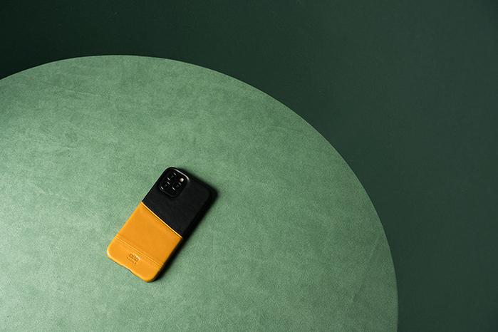(複製)Alto|iPhone 12 /Pro 6.1吋 插卡皮革手機殼背蓋 Metro (海軍藍/礫石灰)