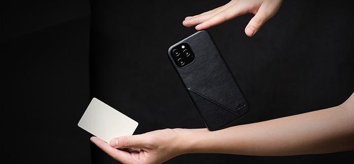 (複製)Alto iPhone 12 /Pro 6.1吋 插卡式皮革防摔手機殼 Metro 360 (渡鴉黑/焦糖棕)