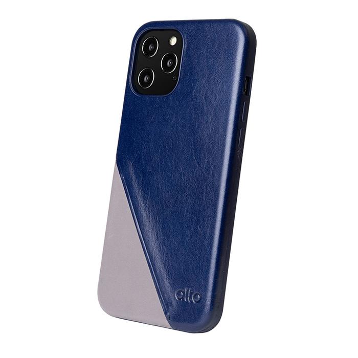 (複製)Alto iPhone 12 Pro Max 6.7吋 插卡式皮革防摔手機殼 Metro 360 (礫石灰/本色)