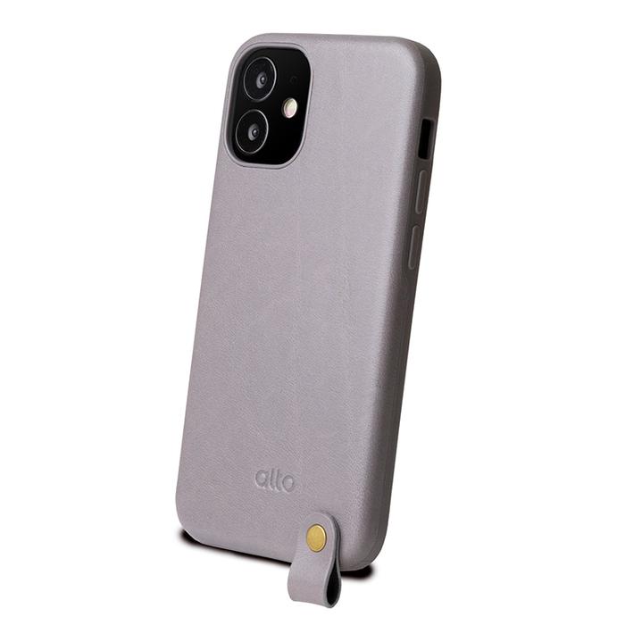 (複製)Alto|iPhone 12 mini 5.4吋 頸掛卡插皮革防摔手機殼Anello 360 - (焦糖棕) (附頸掛繩)