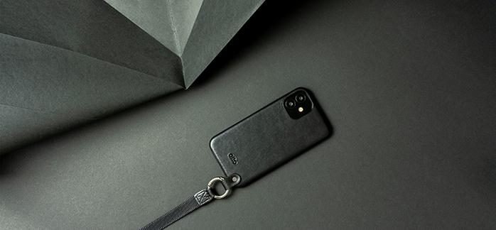 (複製)Alto|iPhone 12 mini 5.4吋 頸掛卡插皮革防摔手機殼Anello 360 - (森林綠) (附頸掛繩)