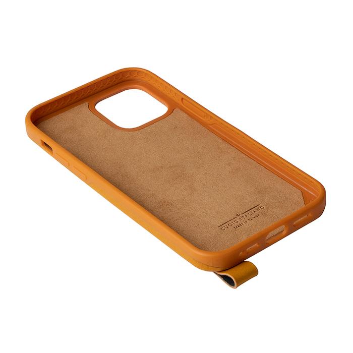 (複製)Alto|iPhone 12 mini 5.4吋 頸掛卡插皮革防摔手機殼Anello 360 - (渡鴉黑) (附頸掛繩)