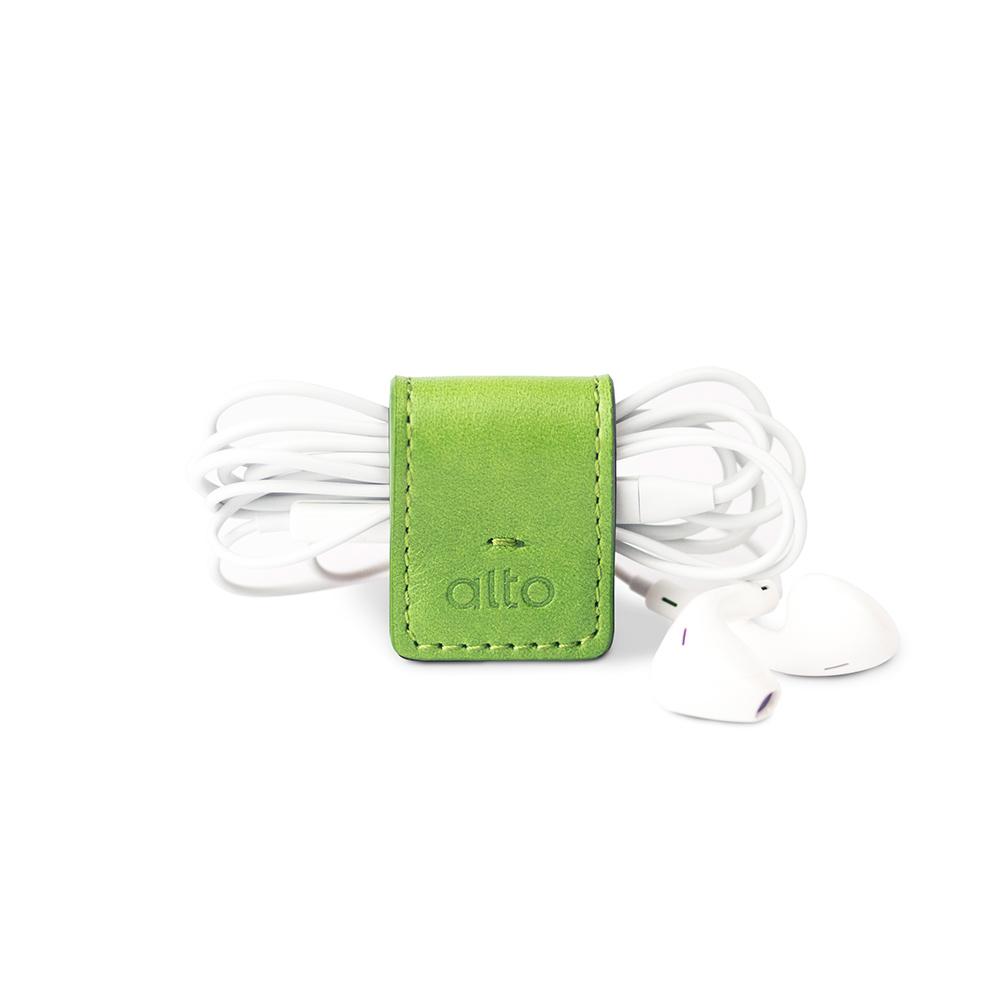 alto|多功能皮革磁鐵夾/書籤/筆夾/耳機收納 Smart Holder(草綠色)