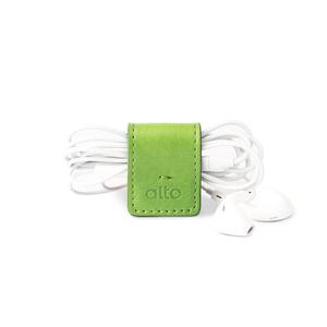 alto 多功能皮革磁鐵夾/書籤/筆夾/耳機收納 Smart Holder(草綠色)
